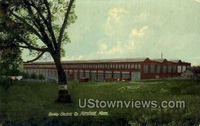 Stanley Electric Co - Pittsfield, Massachusetts MA Postcard