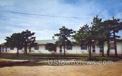 Ocean Pines Motel & Cottages - Cape Cod, Massachusetts MA Postcard