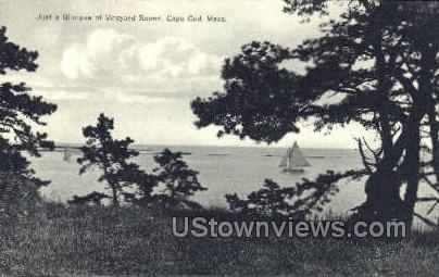 Vineyard Sound - Cape Cod, Massachusetts MA Postcard