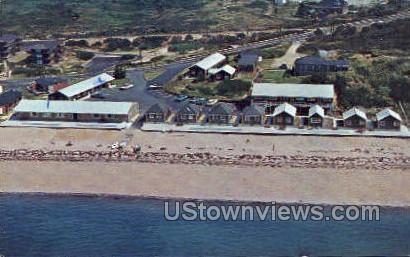 Habor View Motel & Cottages - Cape Cod, Massachusetts MA Postcard