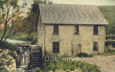 Ye Old Grist Mill 1762 - Cape Cod, Massachusetts MA Postcard