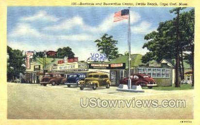 Business & Recreation Center - Cape Cod, Massachusetts MA Postcard