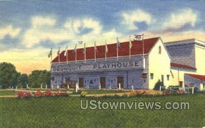 Famous Ogunquit Playhouse - Misc, Massachusetts MA Postcard