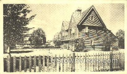 Pequot House - Salem, Massachusetts MA Postcard