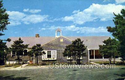 Admin Bldg, Camp Good News', Forestdale - Cape Cod, Massachusetts MA Postcard
