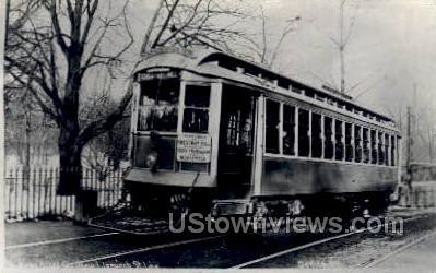 Reproduction - Ipswich St Line - Worcester, Massachusetts MA Postcard