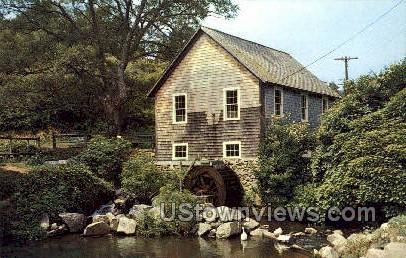 Old Water Mill, Brewster - Cape Cod, Massachusetts MA Postcard