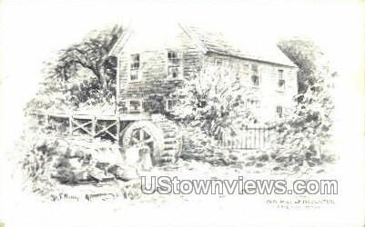 Old Mill & Brewster - Cape Cod, Massachusetts MA Postcard