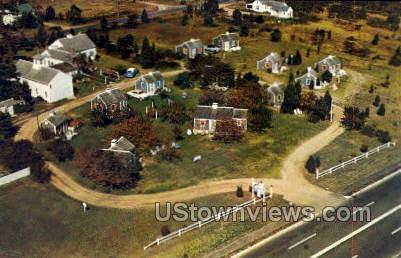 Wentworth Acres Motor Court - Cape Cod, Massachusetts MA Postcard