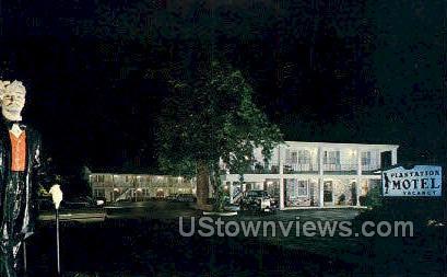 Plantation Motel - Cape Cod, Massachusetts MA Postcard