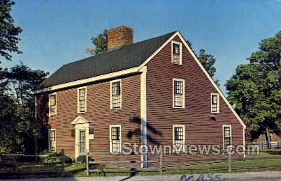 Birthplace of John Adams, 2nd Pres - Quincy, Massachusetts MA Postcard