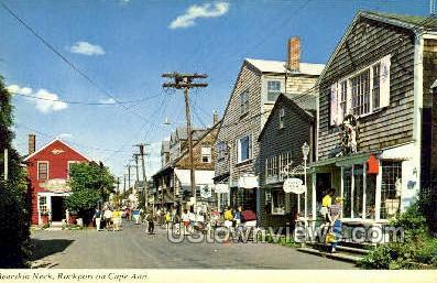 Bearskin Neck - Cape Ann, Massachusetts MA Postcard