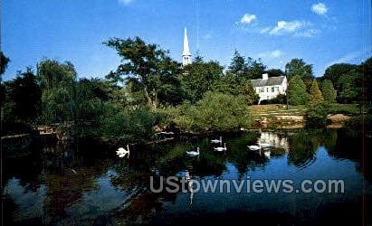 Shawame Pond - Cape Cod, Massachusetts MA Postcard