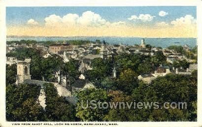 Abbot Hall - Marblehead, Massachusetts MA Postcard