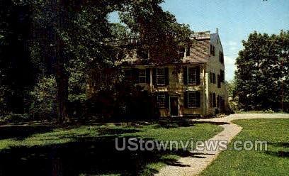 1749 Squire Edmund Quincy, Homestead - Massachusetts MA Postcard