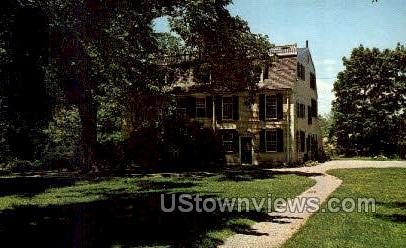 1749 Squire Edmund Quincy, Homestead - Massachusetts MA Postcard