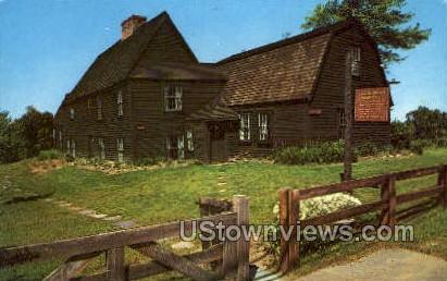 Fairbanks Homestead - Dedham, Massachusetts MA Postcard