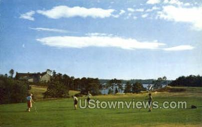 Coonamessett Golf Course - North Falmouth, Massachusetts MA Postcard