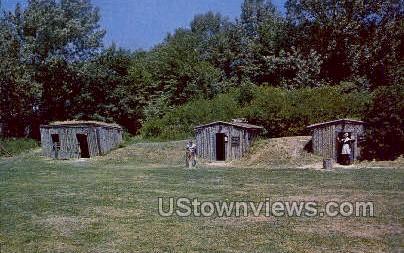 Animal Shelter & Dugouts - Salem, Massachusetts MA Postcard