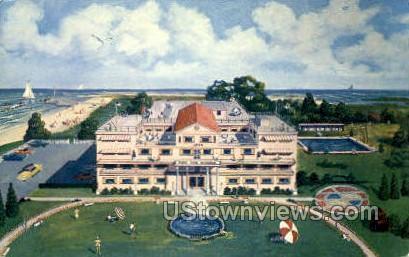 Cape Cod Manor - Massachusetts MA Postcard