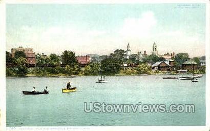 River Front - Springfield, Massachusetts MA Postcard