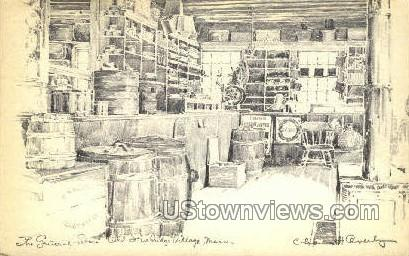 General Store - Old Sturbridge Village, Massachusetts MA Postcard