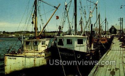 Fishing Boat - Cape Cod, Massachusetts MA Postcard
