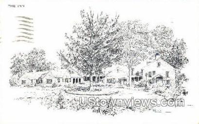 Coonamessett Inn - Falmouth, Massachusetts MA Postcard