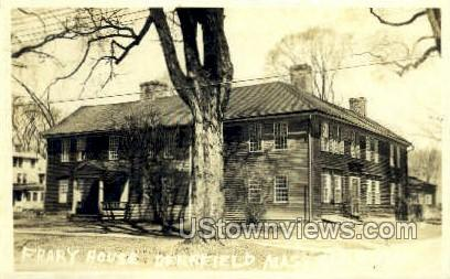 Real Photo - Frary House - Deerfield, Massachusetts MA Postcard