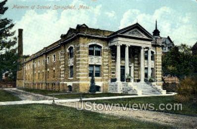 Museum of Science - Springfield, Massachusetts MA Postcard