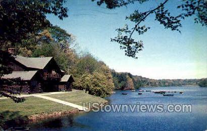 Porter Lake, Forest Park - Springfield, Massachusetts MA Postcard