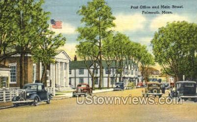 Post Office - Falmouth, Massachusetts MA Postcard