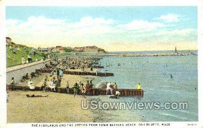 Oak Bluffs, MA,     ;     Oak Bluffs, Massachusetts Postcard