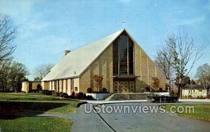St Florence's Roman Catholic Church - Wakefield, Massachusetts MA Postcard