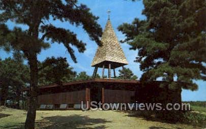 Episcopal Chapel, St James - Cape Cod, Massachusetts MA Postcard
