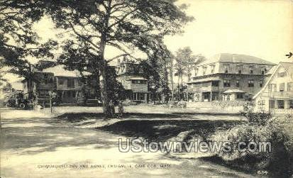 Chiquaquelt Inn & Annex - Cape Cod, Massachusetts MA Postcard
