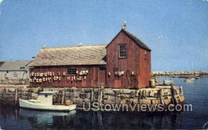 Motif Number One - Gloucester, Massachusetts MA Postcard