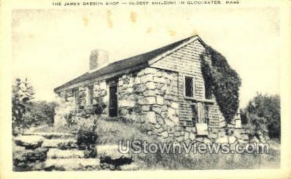 James Babson Shop - Gloucester, Massachusetts MA Postcard