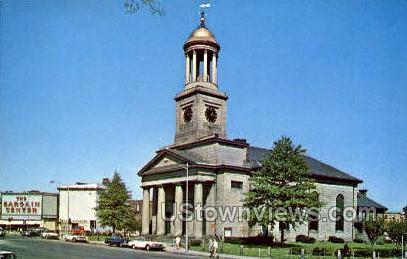 First Parish Unitarian Church - Quincy, Massachusetts MA Postcard