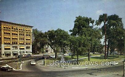 Pittsfield Common - Massachusetts MA Postcard