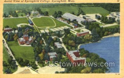 Springfield College - Massachusetts MA Postcard