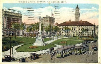 Common - Worcester, Massachusetts MA Postcard