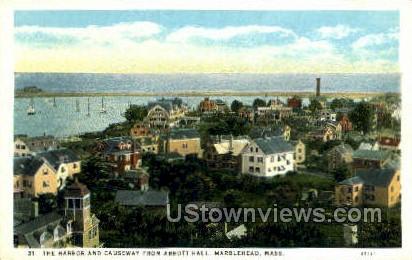 Abbott Hall - Marblehead, Massachusetts MA Postcard