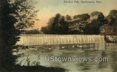 Paradise Falls - Northampton, Massachusetts MA Postcard