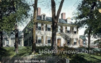 Old Carey House - Chelsea, Massachusetts MA Postcard