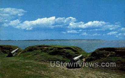 Stage Fort, Stage Fort Park - Gloucester, Massachusetts MA Postcard