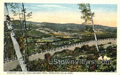 Stamford Valley, Mohawk Trail - Berkshire Hills, Massachusetts MA Postcard