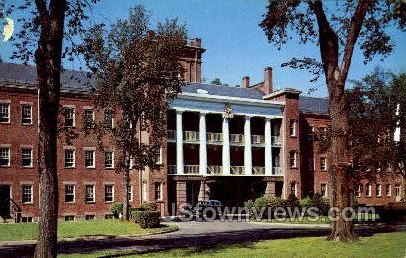 The Springfield US Armory - Massachusetts MA Postcard