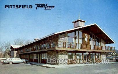 Pittsfield Travelodge - Massachusetts MA Postcard