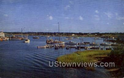 Osterville Harbor - Cape Cod, Massachusetts MA Postcard
